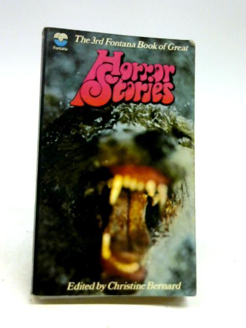 3rd Fontana Book of great Horror Stories by bernard, Christine