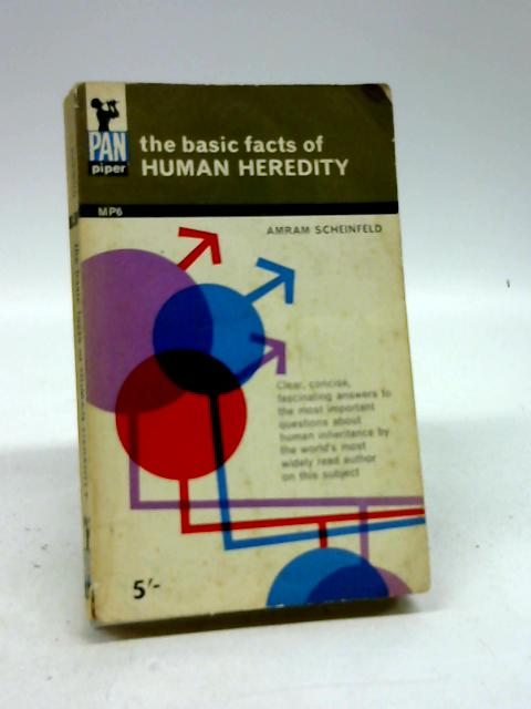 The basic facts of human heredity (Pan piper series) by Scheinfeld, Amram