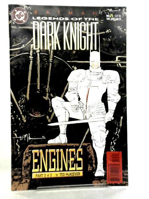 Batman, Legends of the Dark Knight #75 September 1995 by Ted McKeever et al