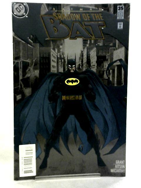 Batman, Shadow of the Bat #35 February 1995 by Alan Grant et al