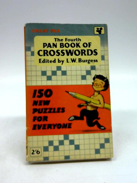 The Fourth Pan Book Of CrossWords by L.W. Burgess