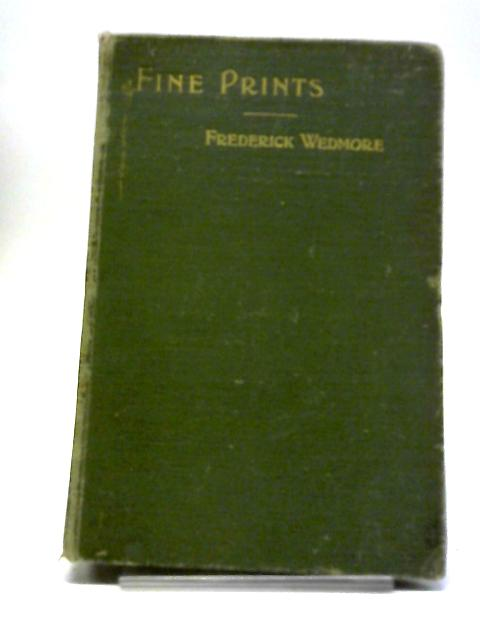 Fine Prints by Frederick Wedmore