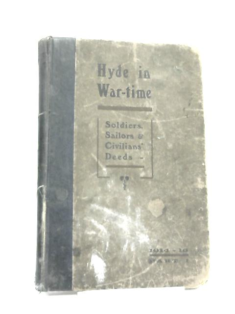 Hyde In Wartime by Randal Sidebothan