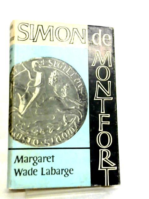 Simon de Montfort by Margaret Wade Labarge