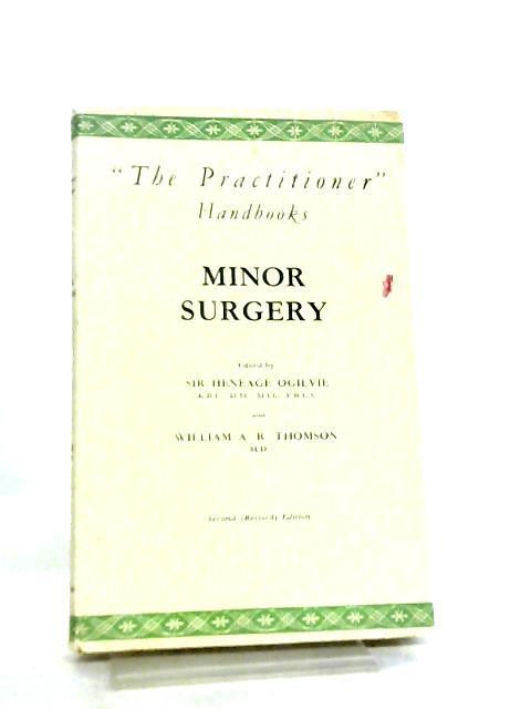 Minor Surgery by H. Ogilvie et al