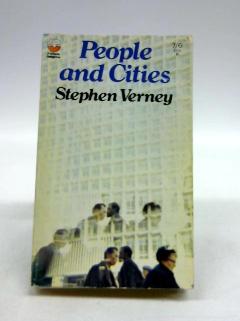 People And Cities by Stephen Verney