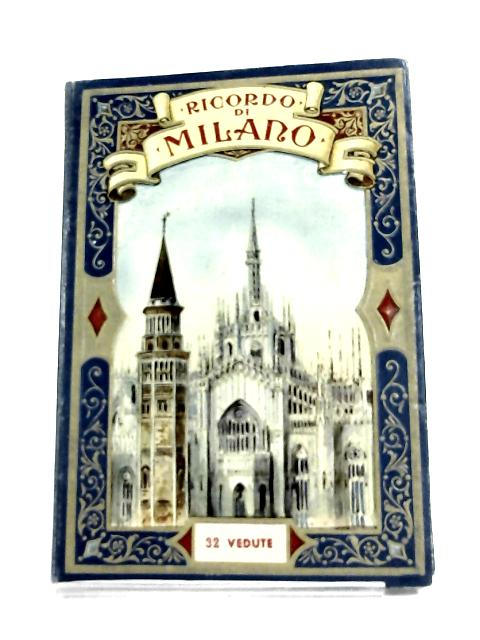 Concertina Book of Milan 32 Plates By N-A