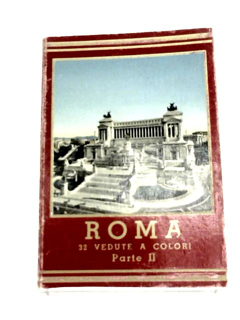 Concertina Book of 32 Views of Rome 1950's by N-A