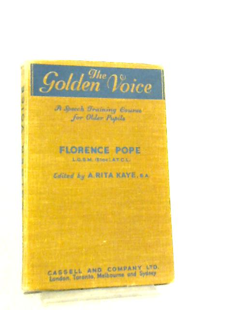 The Golden Voice By Florence Pope