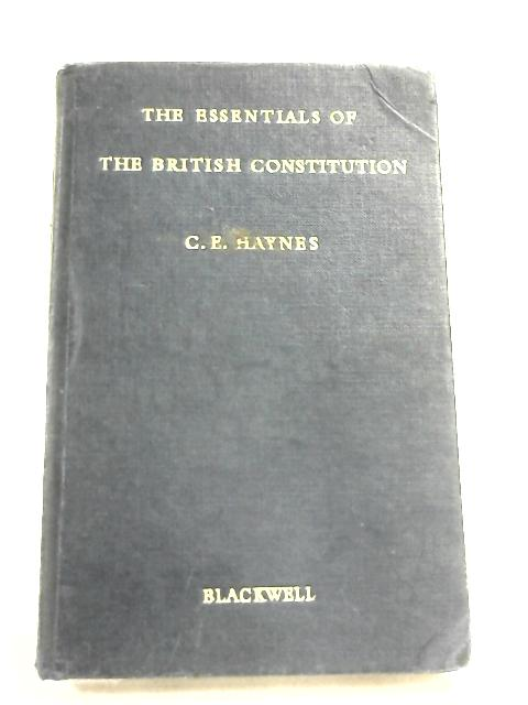 The Essentials of the British Constitution By Haynes