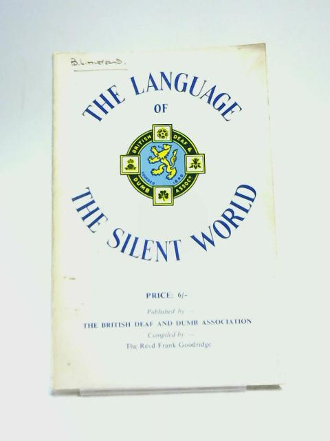 The Language of the Silent World by Anon