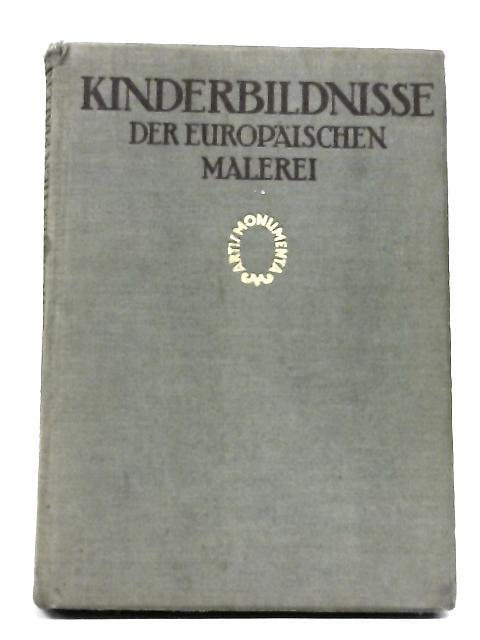 Kinderbildnisse by Sauerlandt, Max