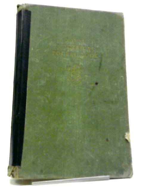 Naval Electrical Pocket Book: 1953 by Unknown