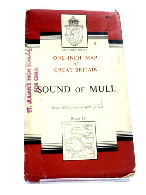 Sound of Mull Sheet 45 - Ordnance Survey By Unknown