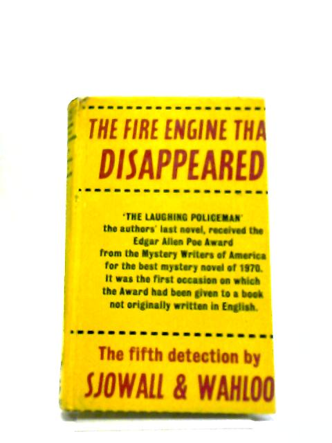The Fire Engine That Disappeared by Sjowall & Wahloo