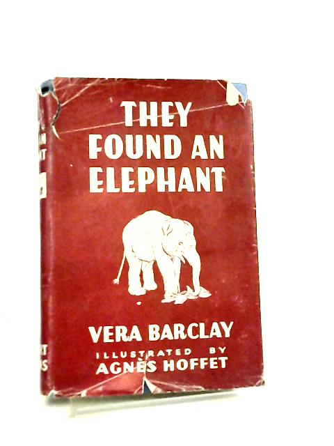 They Found an Elephant by V. C. Barclay