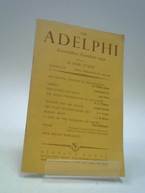 The Adelphi : Volume 27 No.1 - November 1950 by Evans