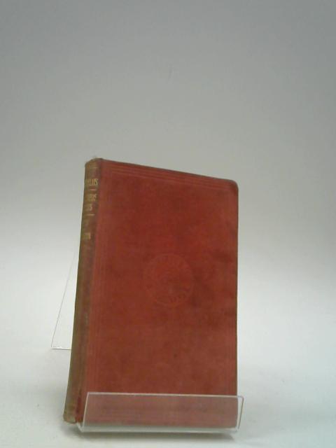 The Prometheus Vinctus of Aeschylus by Aeschylus; Sikes, E.E. & Willson