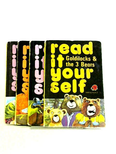 Set of 4 Read it Yourself Level 2 Books by Fran Hunia