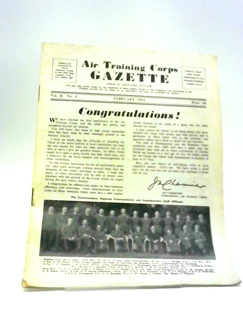 Air Training Corps Gazette February 1942 by Leonard Taylor