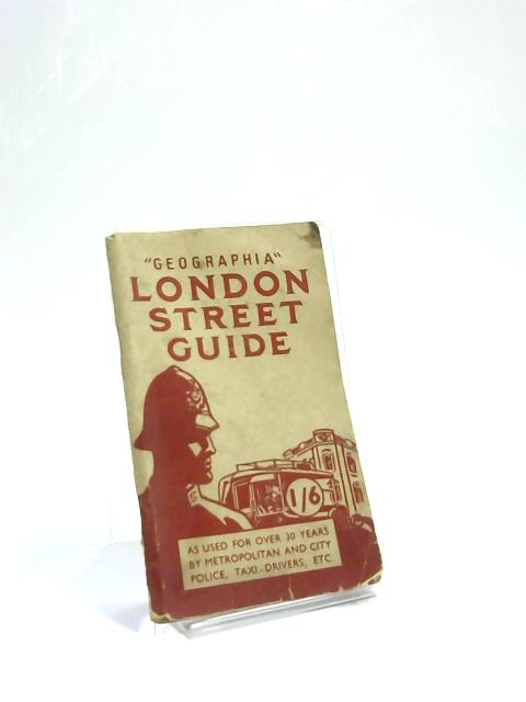 Geographia London Street Guide by Unknown