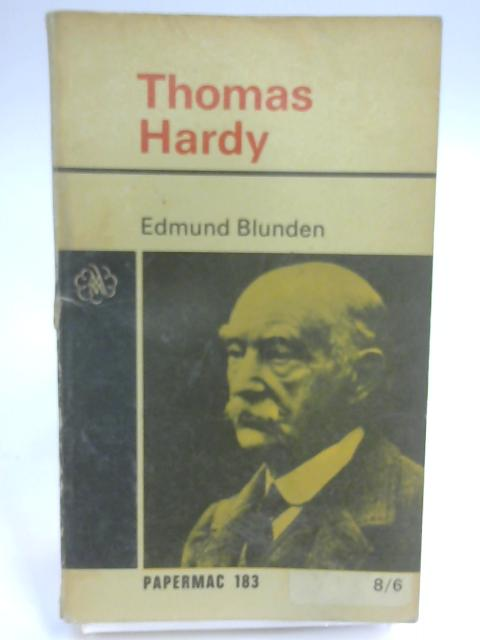 Thomas Hardy (Papermacs) by Blunden, Edmund