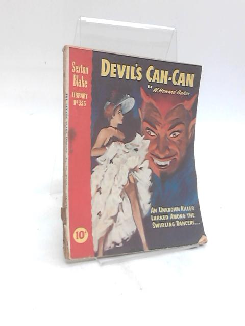 Devil's Can-Can Sexton Blake Library No.355 March 1956 by W Howard Baker