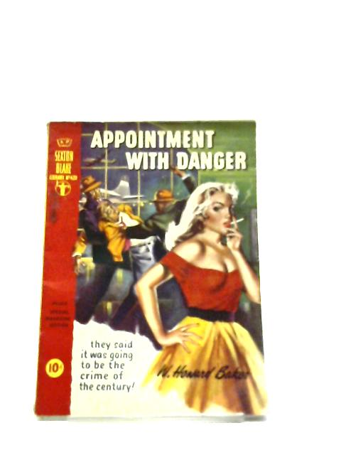 Appointment With Danger (Sexton Blake Library No.420 December 1958) by W Howard Baker