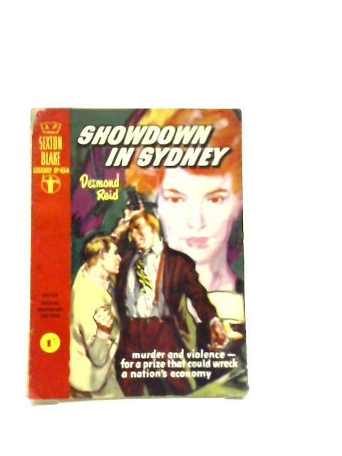 Showdown in Sydney (Sexton Blake Library No.434 July 1959) by Desmond Reid