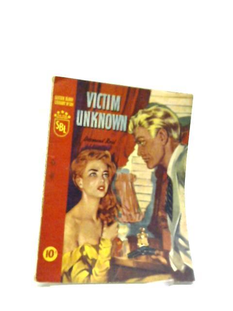 Victim Unknown Sexton Blake Library 384 by Desmond Reid