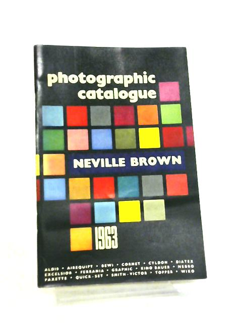 The 1963 Photographic Catalogue by Neville Brown