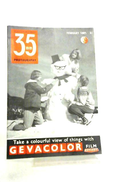 35mm Photography & Sub-Miniature Magazine Vol 3 No 10 February 1961 by Richard Gee