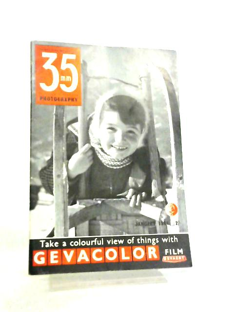 35mm Photography & Sub-Miniature Magazine Vol 3 No 9 January 1961 by Richard Gee