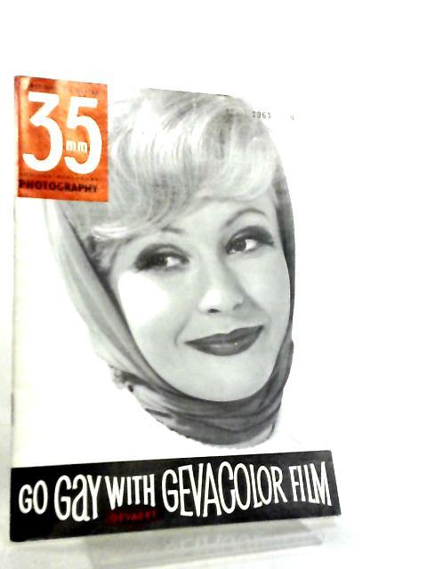 35mm Photography & Sub-Miniature Magazine Vol 5 No 12 April 1963 by Richard Gee