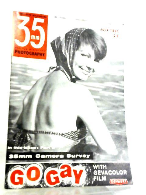 35mm Photography & Sub-Miniature Magazine Vol 6 No 3 July 1963 by Richard Gee