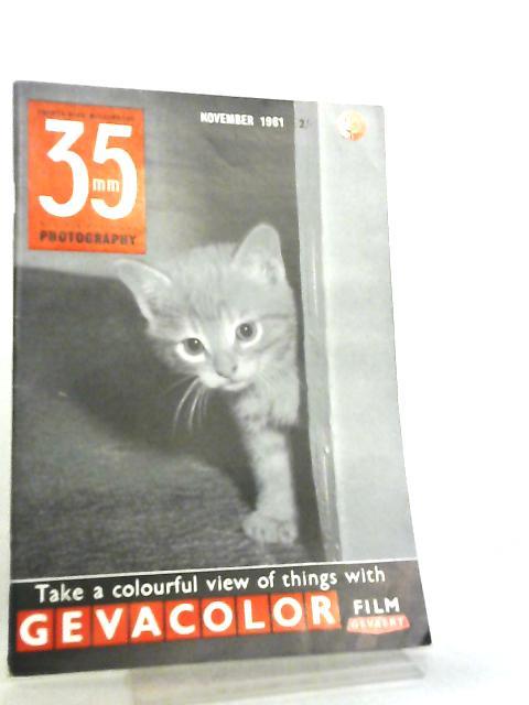 35mm Photography & Sub-Miniature Magazine Vol 4 No 7 November 1961 by Richard Gee