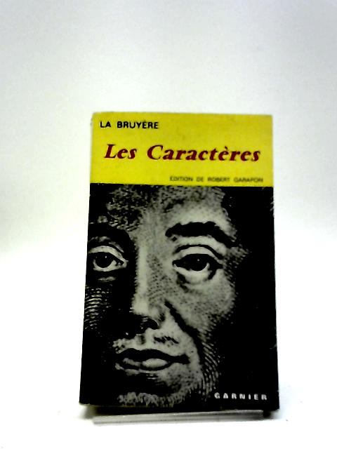 Les Caract by L Bruy