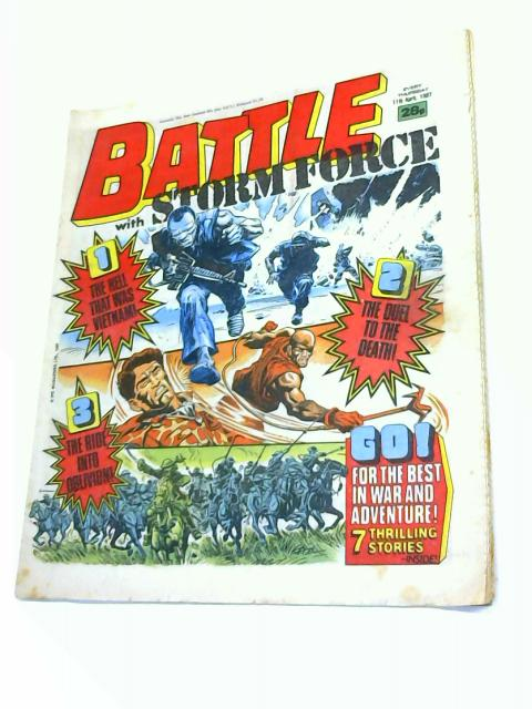 Battle Storm Force, 11th April 1987 By Anon