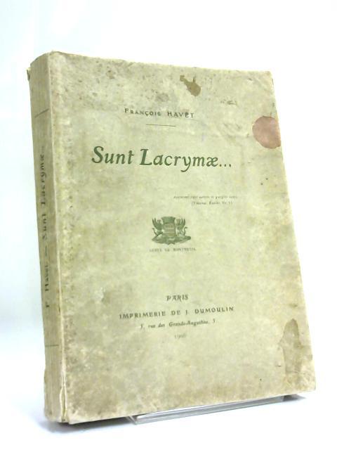 Sunt Lacrymae By Francois Havet