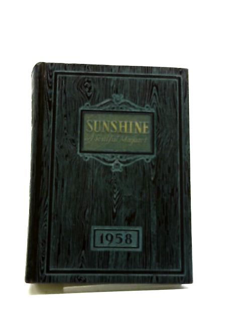 Sunshine - A Soulful Magazet Volume 35 1958 By Various Contributors