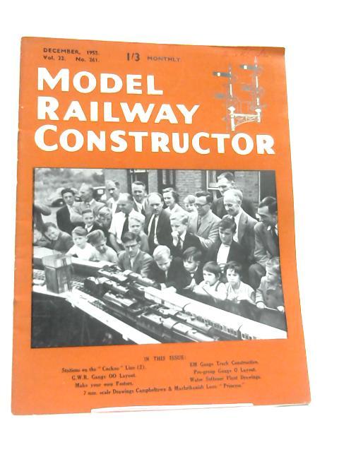 Model Railway Constructor (Dec 1955) By Anon