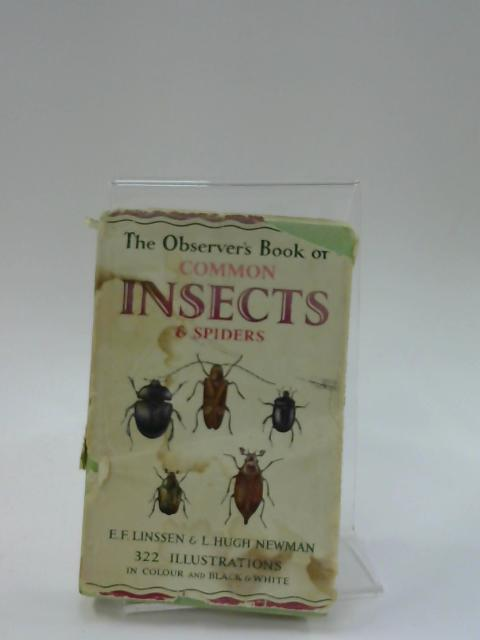 The Observer's Book of Common Insects & Spiders by Linssen. E F.