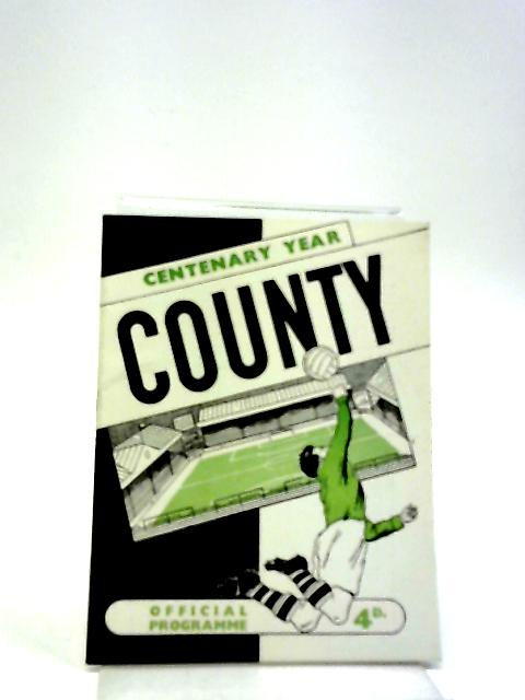 Centenary Year County Official Programme By Unstated