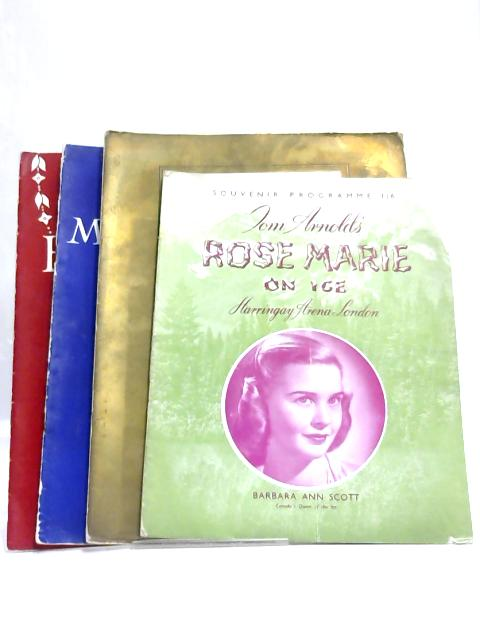 4 Miscellaneous Theatre Programmes Shakespeare 1930's By Anon