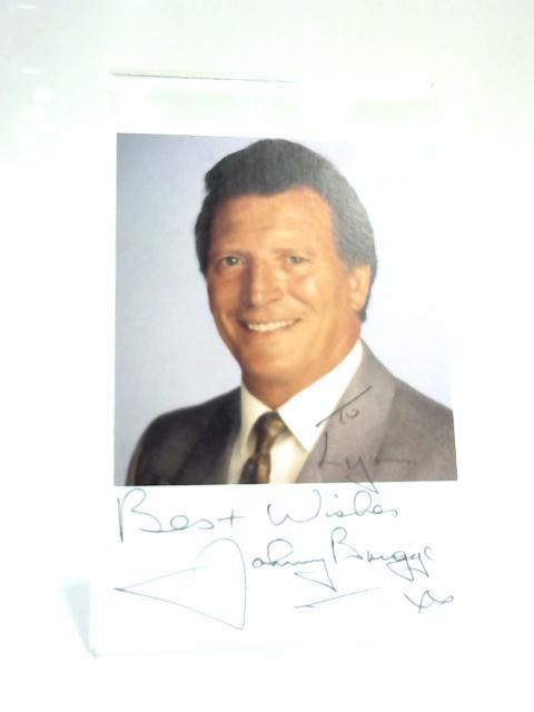 Johnny Briggs Signed Card Coronation Street By Johnny Briggs