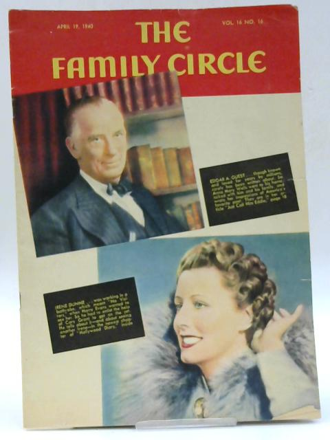 The Family Circle, Vol. 16, No. 16, April 19 1940 By Harry H. Evans