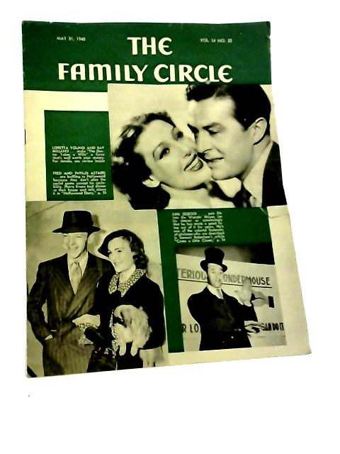 The Family Circle, Vol. 16, No. 22, May 31 1940 By Harry H. Evans