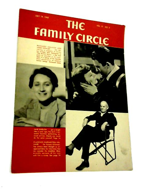 The Family Circle, Vol. 17, No. 3, July 19 1940 By Harry H. Evans