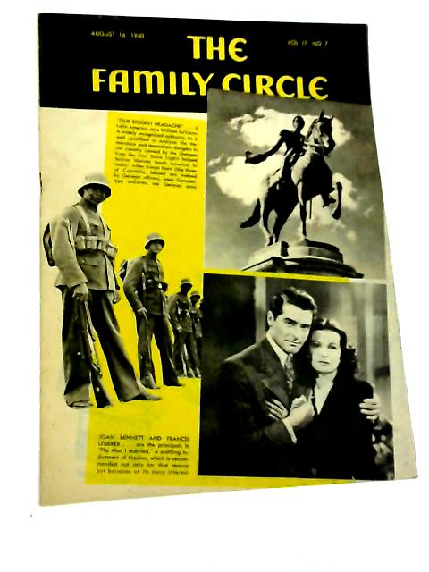The Family Circle, Vol. 17, No. 7, August 16 1940 By Harry H. Evans