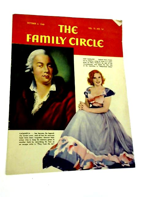 The Family Circle, Vol. 17, No. 14, October 4 1940 By Harry H. Evans
